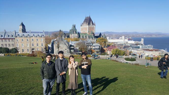 Professor Ko, Juyoung, Chunggi, Kihwan and Daehwa attended UIST 2017