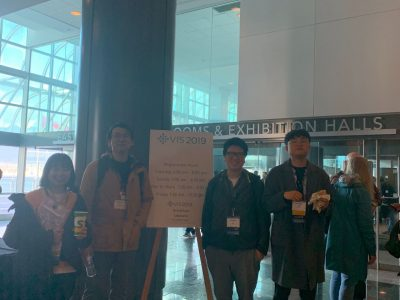 Professor Ko, Hwiyeon and Chunggi attended VIS 2019
